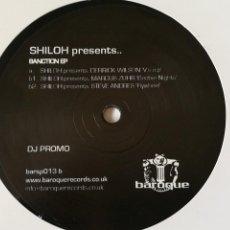 Discos de vinilo: SHILOH PRESENTS VARIOUS - SANCTION EP - 2008. Lote 254547370