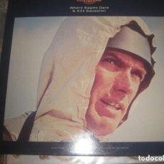Discos de vinilo: RON GOODWIN - WHERE EAGLES DARE )MGM 1968 1989) EDITADO ENGLAND ENVIO 3,33 CERTIFICADO. Lote 254548060