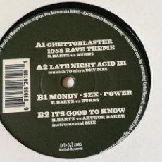 Discos de vinilo: RICHARD BARTZ - GHETTO BLASTER III - 2005. Lote 254548555