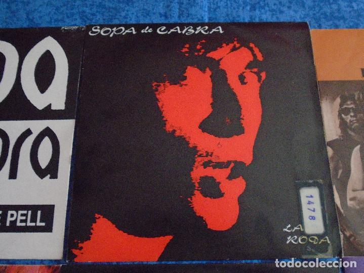 """Discos de vinilo: GRAN LOTE 6 DISCOS SINGLES VINILOS 7"""" SOPA DE CABRA ROCK & ROLL CATALAN EN CATALÀ MUY BUEN ESTADO !! - Foto 3 - 254561760"""