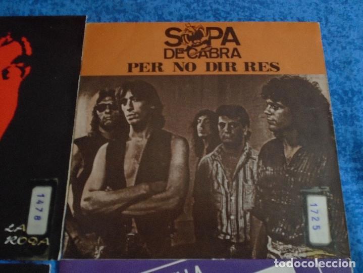 """Discos de vinilo: GRAN LOTE 6 DISCOS SINGLES VINILOS 7"""" SOPA DE CABRA ROCK & ROLL CATALAN EN CATALÀ MUY BUEN ESTADO !! - Foto 4 - 254561760"""