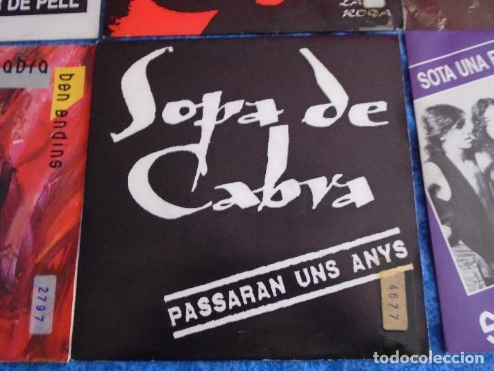 """Discos de vinilo: GRAN LOTE 6 DISCOS SINGLES VINILOS 7"""" SOPA DE CABRA ROCK & ROLL CATALAN EN CATALÀ MUY BUEN ESTADO !! - Foto 6 - 254561760"""