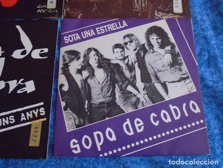 """Discos de vinilo: GRAN LOTE 6 DISCOS SINGLES VINILOS 7"""" SOPA DE CABRA ROCK & ROLL CATALAN EN CATALÀ MUY BUEN ESTADO !! - Foto 7 - 254561760"""