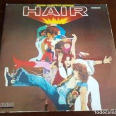 Discos de vinilo: HAIR - ORIGINAL SOUNDTRACK RECORDING - 2. LP - 1979 - PORTADA DOBLE CON INSERTO. Lote 254562830