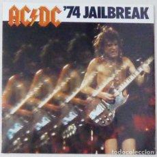 Discos de vinil: LP AC/DC 74 JAILBREAK VINILO ACDC HEAVY METAL. Lote 254563025