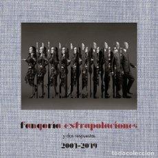 Discos de vinilo: FANGORIA - EXTRAPOLACIONES Y DOS RESPUESTAS 2001-2019 - 2X LP + CD PRECINTADO. Lote 254568520