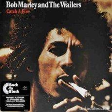 Discos de vinilo: BOB MARLEY & THE WAILERS CATCH A FIRE (LP) . VINILO REEDICIÓN REGGAE JAMAICA. Lote 254570685