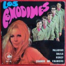 Discos de vinilo: LOS COMODINES -PALABRAS EP 1968. Lote 254571325