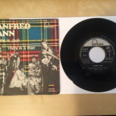 """Discos de vinilo: MANFRED MANN - MY NAME IS JACK / THERE IS A MAN - RADIO SINGLE 7"""" - 1968 SPAIN. Lote 254575285"""
