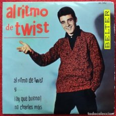 Discos de vinilo: SANTY -AL RITMO DEL TWIST EP 1961 ROCK N ROLL. Lote 254575820