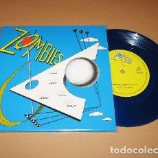 Discos de vinilo: ZOMBIES - GROENLANDIA - SINGLE AZUL - 2019 - NUEVO. Lote 254576875