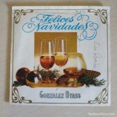 Discos de vinilo: SINGLE PROMO FELICES NAVIDADES GONZALEZ BYASS DEL AÑO 1969. Lote 254576990