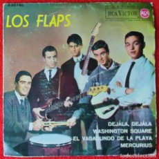 Discos de vinilo: LOS FLAPS - DEJALA DEJALA EP 1964 GARAGE BEAT. Lote 254577690