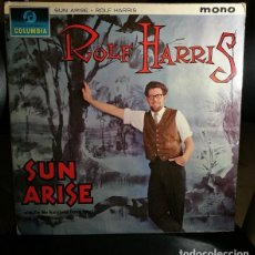 Discos de vinilo: ROLF HARRIS SUN ARISE LP VINILO COLUMBIA 1963 UK NON-MUSIC, POP, CHILDREN, COMEDY // ESTADO: VG/VG. Lote 254580950