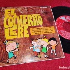 Discos de vinilo: ORQ. CARMELO BERNAOLA EL COCHERITO LERE EP 7'' 1968 SINTONIA. Lote 254583280