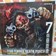 Discos de vinilo: FIVE FINGER DEATH PUNCH–AND JUSTICE FOR NONE . LP VINILO NUEVO PRECINTADO. NU METAL. HEAVY METAL. Lote 254584555