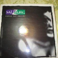 Discos de vinilo: SALZBURG. CURSA CAP ENLLOC. PICAP, 1992. CON INSERT. IMPECABLE (#). Lote 254587275