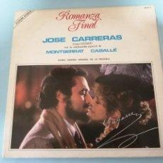 Discos de vinilo: JOSÉ CARRERAS Y MONTSERRAT CABALLE (ROMANZA FINAL). Lote 254588390