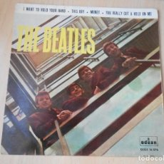 Discos de vinilo: BEATLES, THE, EP, I WANT TO HOLD YOUR HAND + 3, AÑO 1964. Lote 254598570