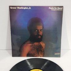 Discos de vinilo: GROVER WASHINGTON, JR. FEELS SO GOOG. Lote 254601965