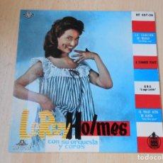Discos de vinilo: LEROY HOLMES CON SU ORQUESTA Y COROS, EP, THE BILBAO SONG - A SUMMER PLACE + 2, AÑO 1961. Lote 254604720