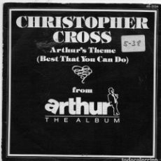 Discos de vinilo: CHRISTOPHER CROSS - ARTHUR - SINGLE. Lote 254608160