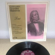 Discos de vinilo: VINILO COLECCION DE GRANDES MAESTROS LISX. Lote 254608725