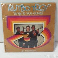 Discos de vinilo: RUMBA TRES 1973 TENGO LO QUE QUIERO ES TU PROBLEMA. Lote 254610105
