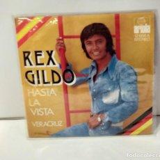 Discos de vinilo: REX GILDO HASTA LA VISTA 1973. Lote 254611180
