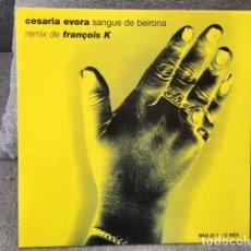 Discos de vinilo: CESARIA EVORA . SANGUE DE BEIRONA . EDICIÓN FRANCESA DE 1997. Lote 254611460