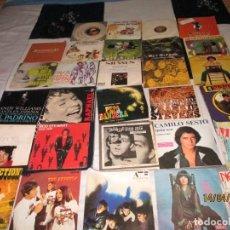 Discos de vinilo: LOTE DE DISCOS SINGLE DE VARIOS ESTILOS. Lote 254612380