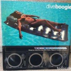 Discos de vinilo: DIVE BOOGIE . MIXES BY LOOP DA LOOP . KLM. NYLON. NIPPA. EDICIÓN INGLESA DE 1998. Lote 254612495