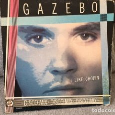 Discos de vinilo: GAZEBO . I LIKE CHOPIN . EDICIÓN ITALIANA DE 1983. Lote 254613730