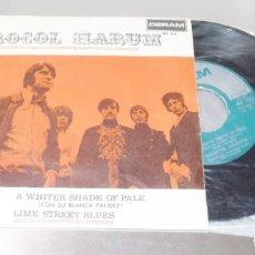 Discos de vinilo: PROCOL HARUM --- A WHITER SHADE OF PALE & LIME STREET BLUES NEAR MINT M. Lote 254614775