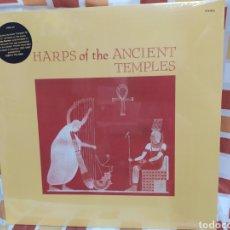 Discos de vinilo: LAUGHTON, GAIL - HARPS OF THE ANCIENT TEMPLES. LO VINILO PRECINTADO. OFICIAL PLEASURE FOMUSIC.. Lote 254615445