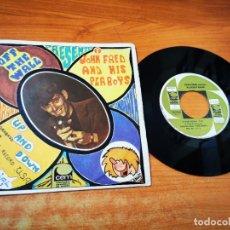 Discos de vinilo: JOHN FRED AND HIS PLAYBOY BAND UP AND DOWN SINGLE VINILO DEL AÑO 1968 ESPAÑA CONTIENE 2 TEMAS. Lote 254618575