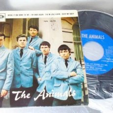 Discos de vinilo: THE ANIMALS -- BRING IT ON HOME TO ME & I´M MAD AGAIN & BURY MY BODY +1 --NEAR MINT M. Lote 254618710