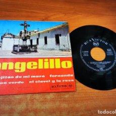 Discos de vinilo: ANGELILLO LOS OJITOS DE MI MADRE EP VINILO DEL AÑO 1962 ESPAÑA CONTIENE 4 TEMAS. Lote 254619630