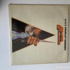 Discos de vinilo: LA NARANJA MECANICA-ORANGE MECANIQUE VINILO 1972 MUY BUEN ESTADO (3.33 ENVÍO CERTIFICADO). Lote 254620675