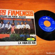 Discos de vinilo: LOS FLAMENCOS NINGUNO ME PUEDE JUZGAR EP VINILO DEL AÑO 1966 ESPAÑA CONTIENE 4 TEMAS. Lote 254620980