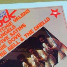 Discos de vinilo: RITCHIE VALENS, THE ANGELS,THE FIVE SATINS, ARCHIE BELL & THE DRELLS RONNIE DOVE LP VINILO+FASCÍCULO. Lote 254623510