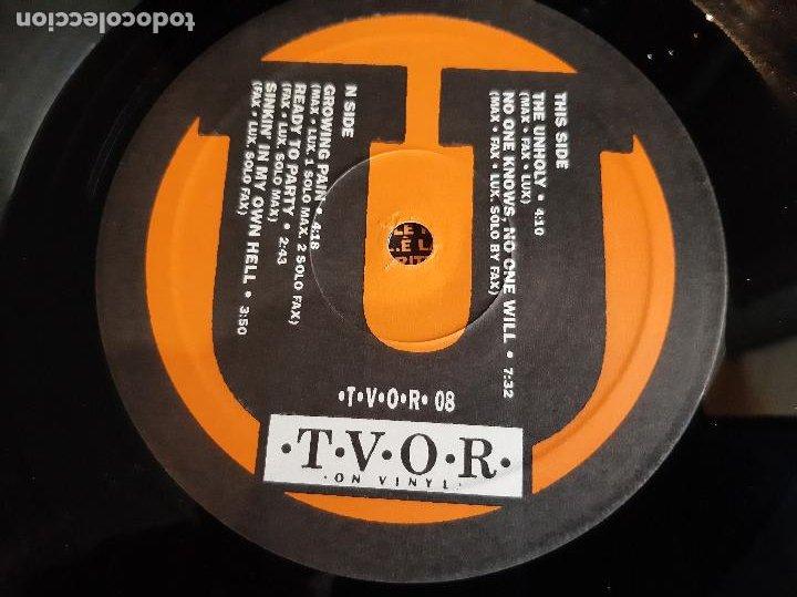 """Discos de vinilo: UPSET NOISE -GROWING PAIN- (1989) MINI ALBUM 12"""" - Foto 2 - 254625875"""
