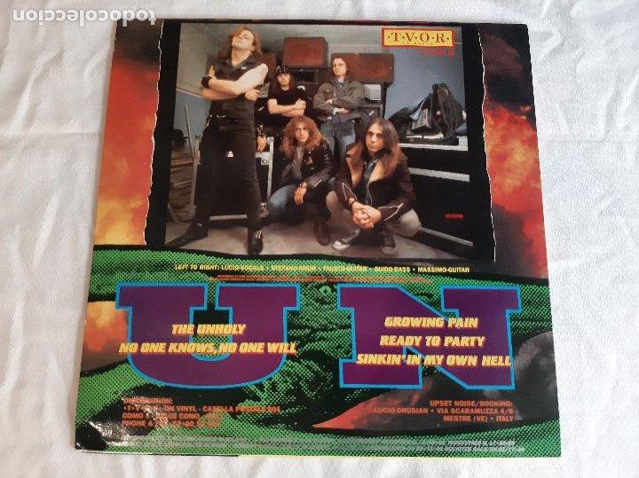 """Discos de vinilo: UPSET NOISE -GROWING PAIN- (1989) MINI ALBUM 12"""" - Foto 9 - 254625875"""