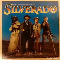 Discos de vinilo: SILVERADO BRUCE BROUGHTON GEFFEN RECORDS 1985 MUY BUEN ESTADO!!!. Lote 254628345