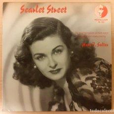 Discos de vinilo: SCARLET STREET (PERVERSIDAD) HANS J. SALTER MEDALLION RECORDS. Lote 254629180