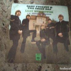 Discos de vinilo: GARY PUCKETT & THE UNION CAP / LADY WILLPOWER / SINGLE 45 RPM / CBS SOLO PORTADA. Lote 254629565