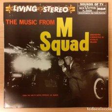 Discos de vinilo: THE MUSIC FROM M SQUAD STANLEY WILSON, JOHN WILLIAMS RCA VICTOR ESPAÑA 1984 COMO NUEVO!!!. Lote 254631890