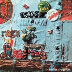 Discos de vinilo: RUFUS - RAGS TO RUFUS 1974 - 2º LP, CHAKA KHAN, KILLER FUNK ROCK, ORG EDT USA PROMO, TODO EXC. Lote 254632545
