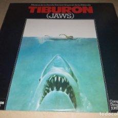 Discos de vinilo: BSO DE LA PELÍCULA TIBURON-JOHN WILLIAMS-ORIGINAL ESPAÑOL 1975. Lote 254635300