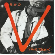 Discos de vinilo: BIG AUDIO DYNAMITE - THIRTEEN + HOLLYWOOD BOULEVARD SINGLE UK 1987. Lote 254637960